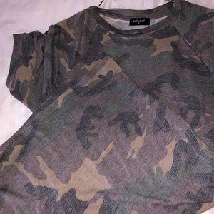 Camp t shirt dress